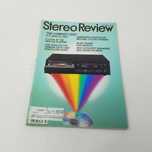 Details about Vintage July 1985 Stereo Review Magazine HiFi Electronics  Advertisements