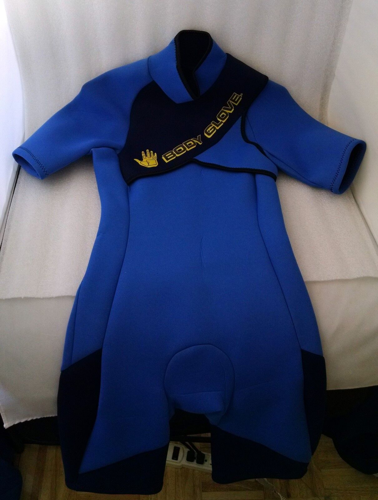 Body G  Shorty Spring Wetsuit Size Small bluee   cheap and high quality