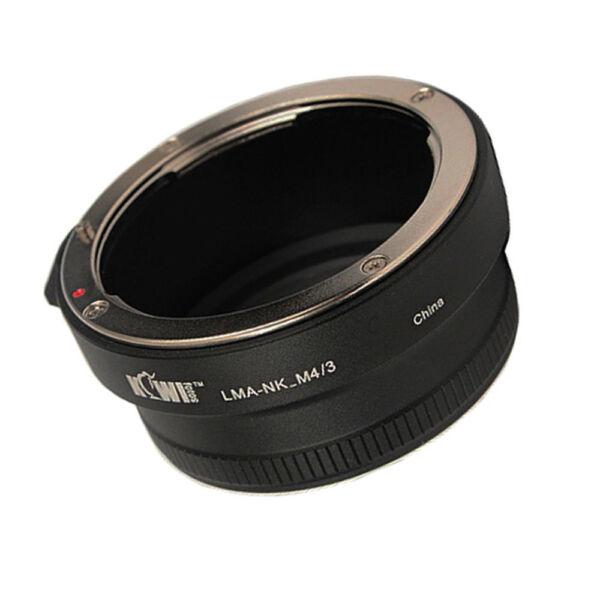 DéVoué Adaptateur Objectivement Pour à Nikon Af Mf à Micro 4/3 ( Mft ) Connexion