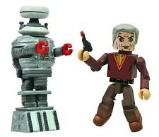 Lost in Space Minimates Dr. Zachary Smith & Robot B-9 figures Diamond 101452