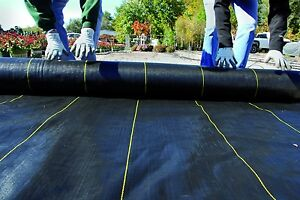 DeWitt Woven Ground Cover Landscape Fabric SUNBELT 12'x100' 3.2 OUNCE FOLDED!!