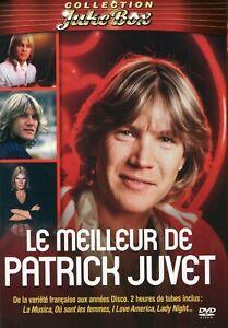 Patrick Juvet : Le meilleur de Patrick Juvet (DVD + Livret)
