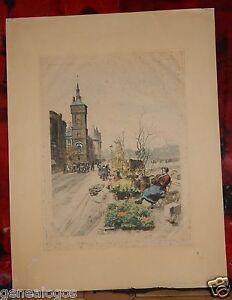 Eugene-Veder-1876-1936-Engraving-the-Walking-Flowers-Docks-of-Seine-Paris-1929