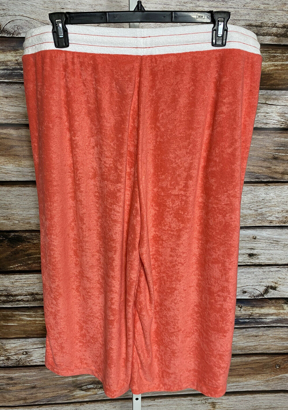 Cuddl Duds Baby Terry Gaucho Pants Womens Sz 1X T… - image 7