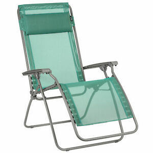 Details about Lafuma R Clip Batyline Iso Relaxation Zero Gravity Lounge Recliner, Chlorophylle