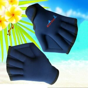 Diving-Swimming-Surfing-Training-Webbed-Gloves-Neoprene-Fins-Hand-Paddle-Surfing