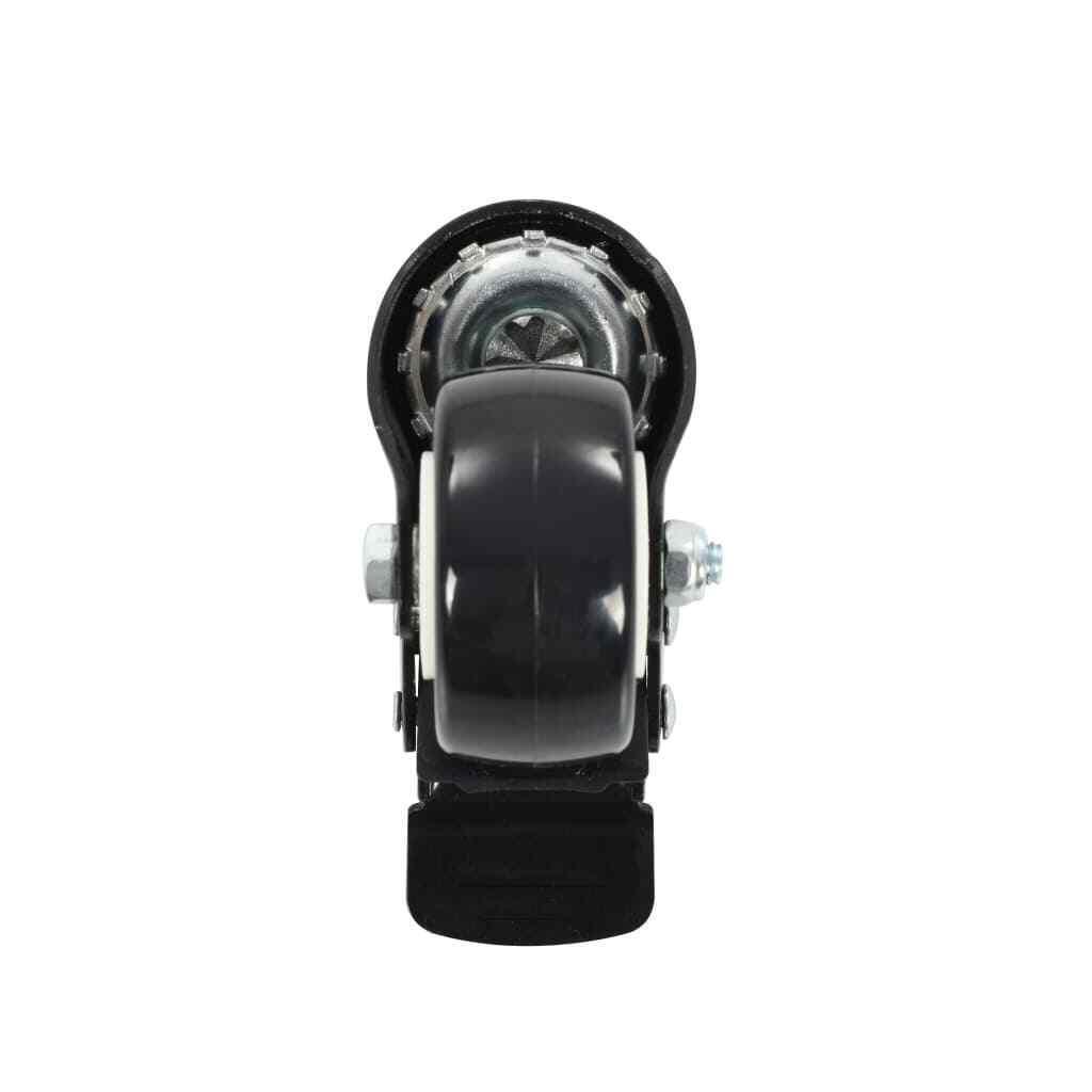 s l1600 - vidaXL 4x Ruedas Giratorias con Frenos Transporte 50mm Materiales de Almacén