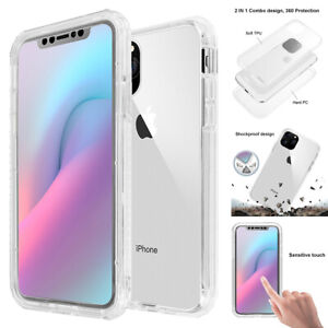 For iPhone 11 Pro Max Case Front+Back Full Body Shockproof Hard Heavy Duty Cover