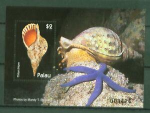 Palau-2007-Meeresschnecken-Tritonshorn-Charonia-tritonis-Block-215