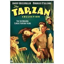 Tarzan Collection-J Weissmuller (6 dvd) Ape Man/Mate/Escapes/Son/Treasure/NY