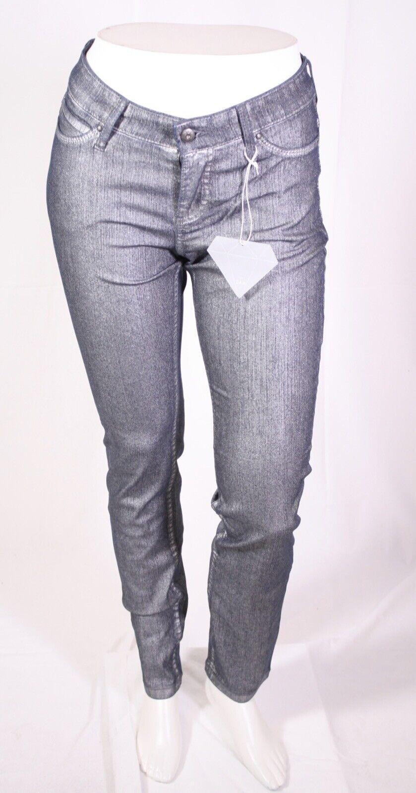 MJ3-87 MAC Skinny Jeans Hose blau silber Gr. 38 L32 L32 L32 Diamond Brush Glitzer NEU | Ausgezeichnete Leistung  | Zahlreiche In Vielfalt  | Attraktive Mode  | Vogue  | Geeignet für Farbe  e95f59