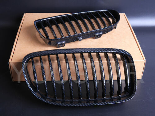 FAST EMS x2 CARBON EFFECT Grills for BMW 3 Series E92 E93 LCI Facelift 10-13