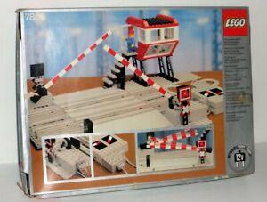 Lego-Train-Remote-Controlled-Road-Crossing-7866-inkl-OBA-u-Box