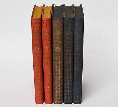 Effizient Lot 5 Bücher Ausgewählte Werke Friedrich Der Große Gustav Berthold Volz Militär Knitterfestigkeit