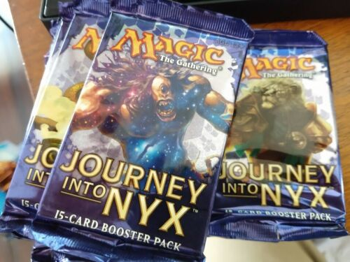 not a repack! Journey into Nyx MTG Booster Packs