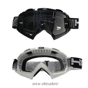 Radbrillen HP 7 HP7 MX Brille schwarz Motocross Enduro Downhill MTB Goggle BMX Crossbrille