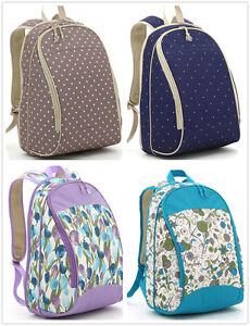 Newpretty 5Pcs Baby Diaper Nappy Bag Backpack mummy bag backpack(LXEM106)