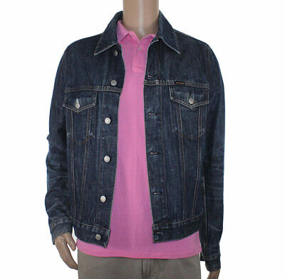 hot sale online 73f15 64dc8 Energie by Miss Sixty Size M 100% cotton jacket men denim jeans coat | eBay