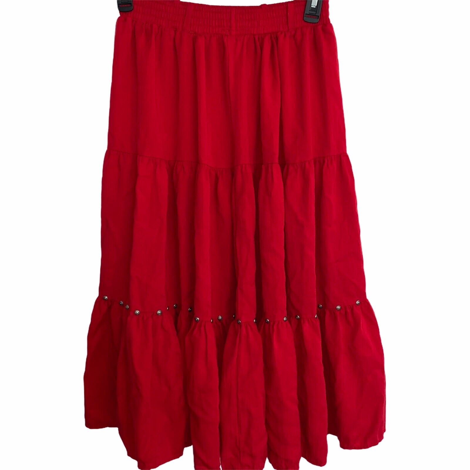 Western Collection Size Small Vintage Red Studded… - image 7