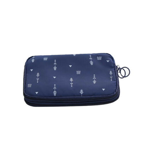 Double Layer Travel Storage Bag Electronic Accessories Tool Pouch Organizer CB