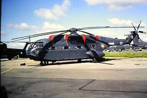 2-42-2-Sikorsky-VH-60N-Marine-22-French-Air-Force-Kodachrome-SLIDE