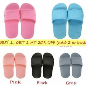 Soft Shower Bathroom Slippers Women/'s Sandals Men/'s Flip-flops Summer Shoes