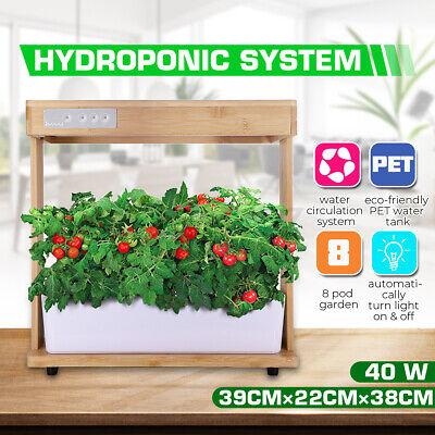 Indoor Plant Veggies Hydroponic Grow Light Full Spectrum Smart Herb Garden Kit