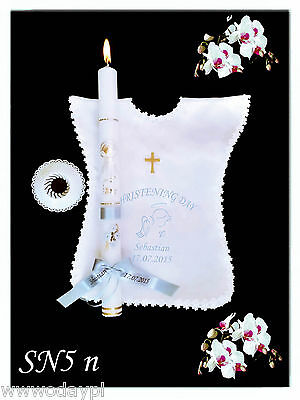 Communion,Baptism Candles,Gift Favors Candle Personalised Girl//Boy Christening