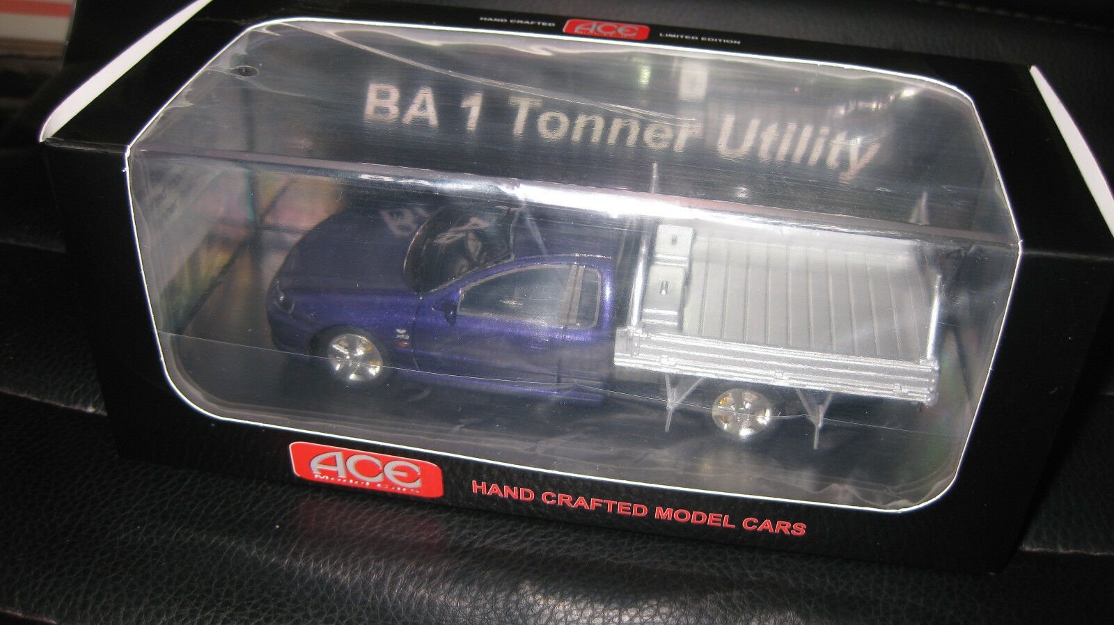 1 43 ACE MODEL CARS FORD FALCON BA 1 TONNER UTE VIPER lila  LTD EDITION