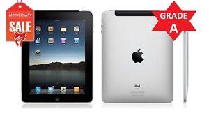 Apple iPad 1st Gen 32GB, Wi-Fi + 3G (Unlocked), 9.7in - Black - Great (R)
