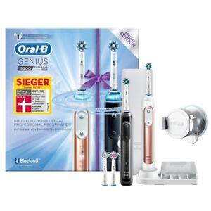 Braun Oral-B Genius 9900 elektrische Zahnbürste inkl. 2. Handstück Reise-Etui sc