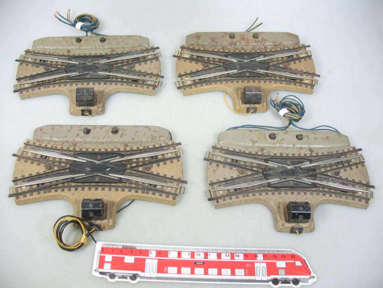 AM669-2 4x marklin H0  00 00 00  AC 5126 Bastler-Dkw Cambio a Croce ( M Pista ) F 3600 dc2562