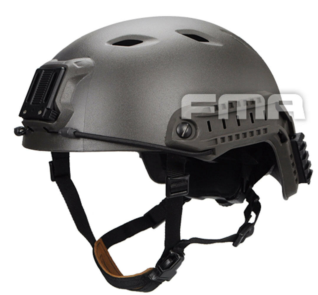 NEW FMA  Airsoft CS Outdoor Predective ACH Base Jump Helmet Mass Grey L XL L1053  get the latest