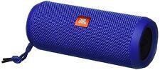JBL FLIP 3 SPLASHPROOF PORTABLE BLUETOOTH SPEAKER BLUE #FLIP3BLUE NEW IN BOX