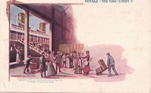 Postcard-Voyage-New-York-Europe-1-Boarding-Steamer