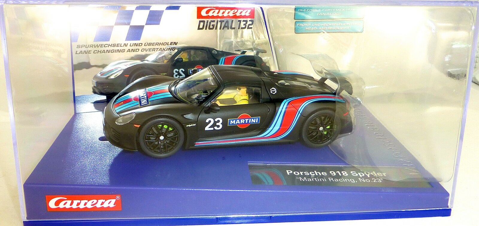 Martini Racing No 23 Porsche Porsche Porsche 918 Spyder Digital 132 Carrera 30691 Nuovo Conf. d7da7c