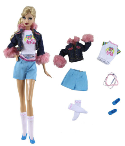 1 Set Fashionistas Clothes Princess Clothes For 11,5 inch Doll c19