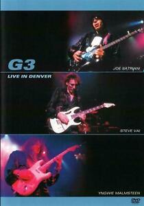 G3-Live-in-Denver-Colorado-2003-DVD-Joe-Satriani-Steve-Vai-Yngwie-Malmsteen