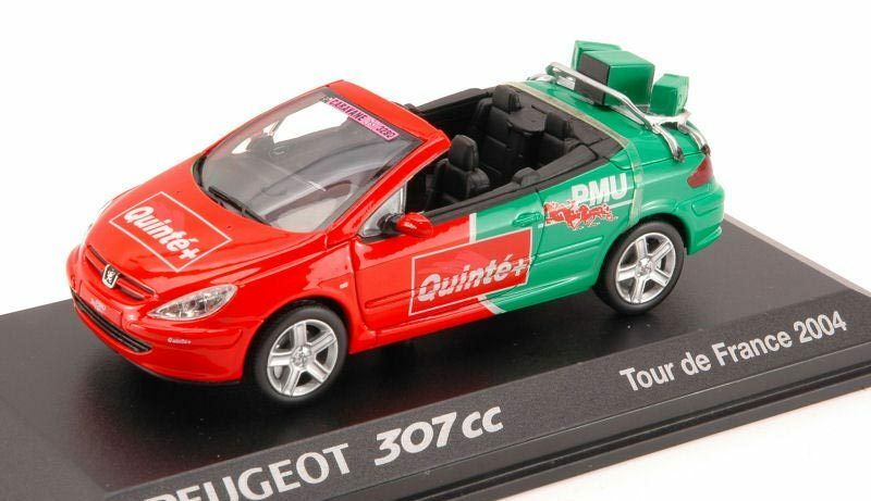 Peugeot 307 CC Pmu Tour De France 2004 1 43 Model 73766 NOREV