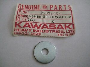 KAWASAKI ZN//ZG//ZL//W//H1//F//A//G5//G4TR SPEEDOMETER MOUNTING WASHER NOS!