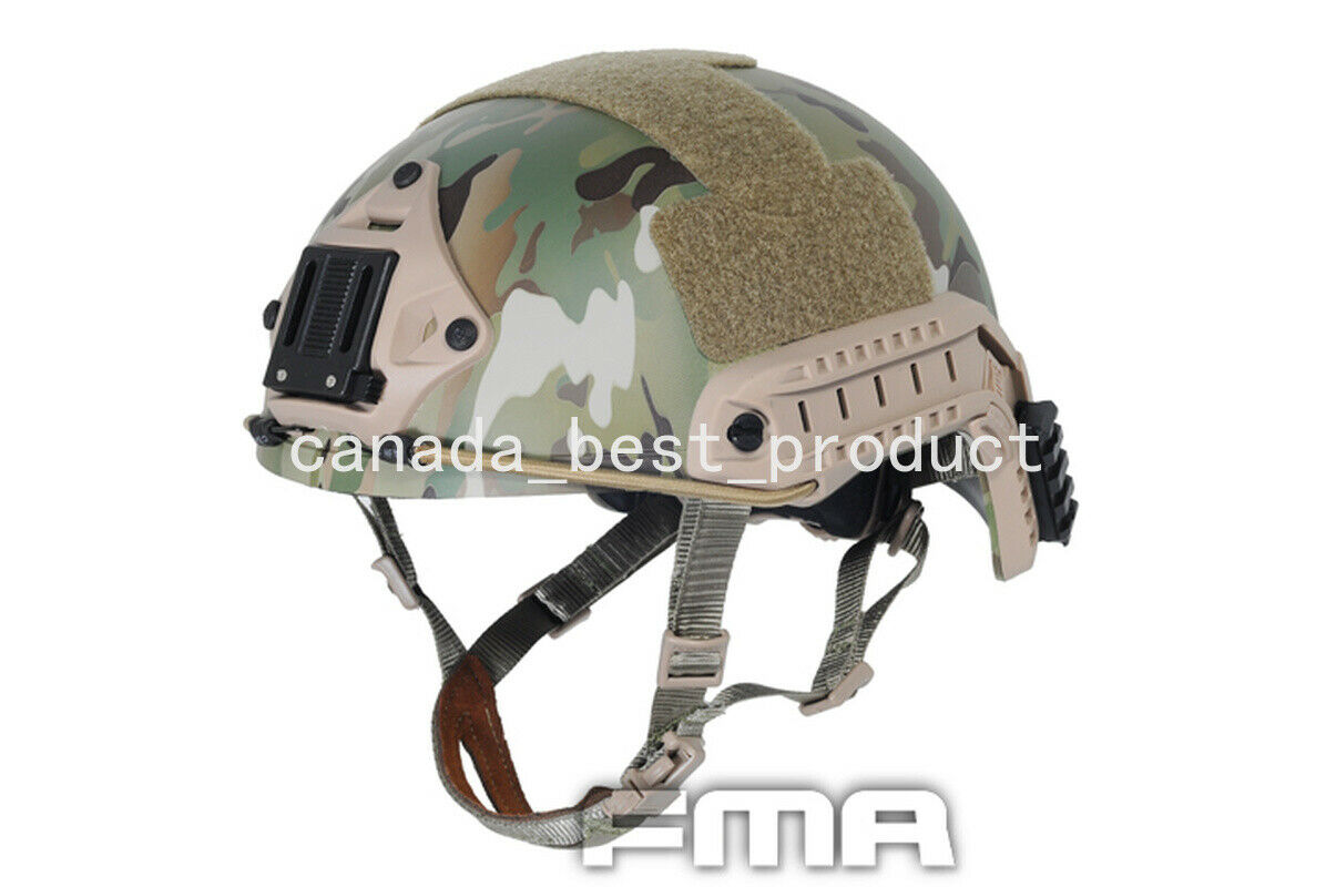 FMA Adjustable Tactical Airsoft Hunting Paintball Predective Helmet Multicam M  L  just for you