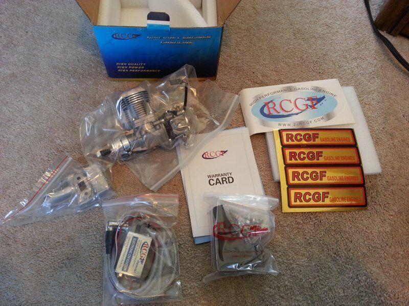 RCGF 15CC Gas Engine Beam Mount Version US Dealer