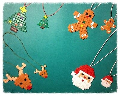 **~ Christmas Elf ~ hama bead sprite//pixel art decoration ~**