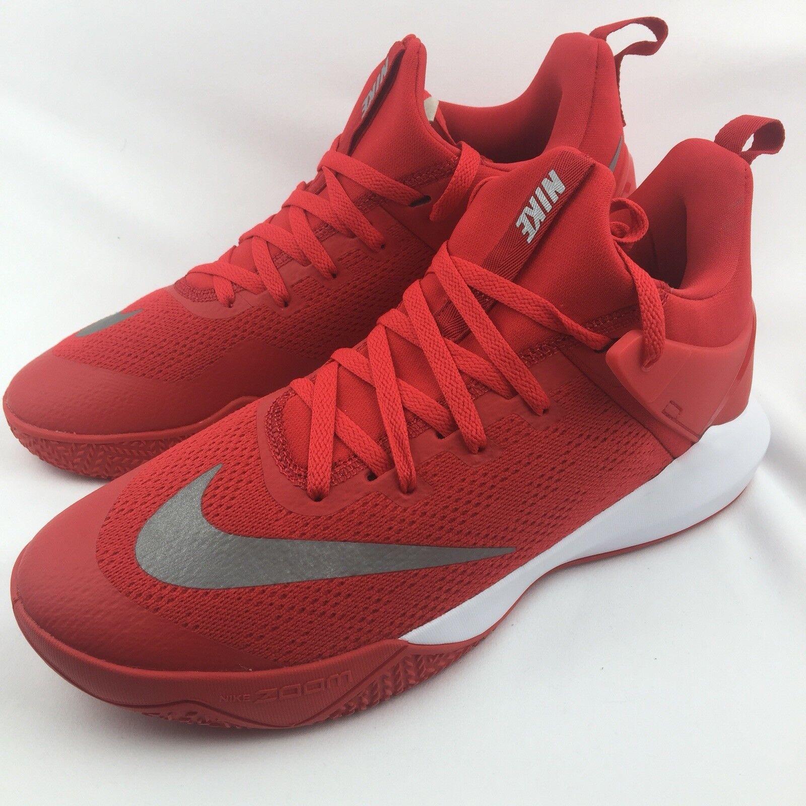 Nike Zoom Shift TB 897811-600 University Red White Size 12