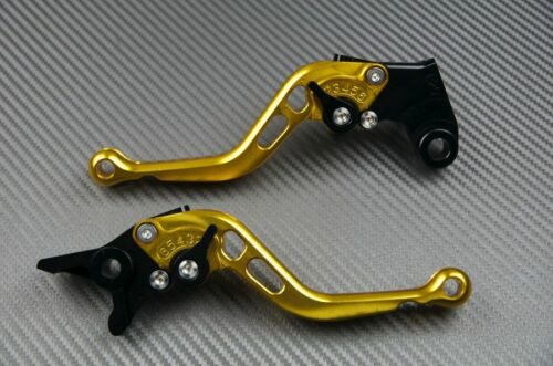levier leviers levers court short CNC Or Gold Yamaha FAZER 600 fzs 1997-2001