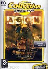 JEU PC CD ROM../....AGON......LE MYSTERE DU CODEX.../.......