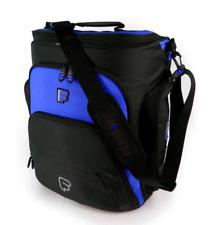 """Fusion F1 Mega Workstation Blue - 17"""" Laptop Backpack or Shoulder Bag w/Sleeve"""