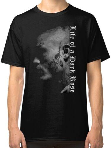 Lil Skies Men/'s Black Tees Shirt Clothing