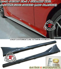 S-Style Side Skirts (ABS) Fits 12-17 BRZ FR-S Toyota 86