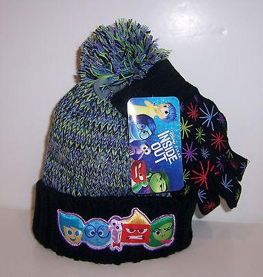Disney Inside Out Hat Glove /& Scarf Set-780-281